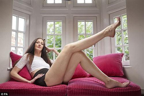 Choáng ngợp trước người đẹp có đôi chân thon dài nhất quả đất - 3