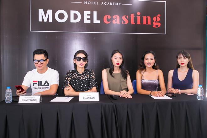 Nam Trung cùng Xuân Lan casting người mẫu trẻ, xóa tin đồn bất hòa - 1
