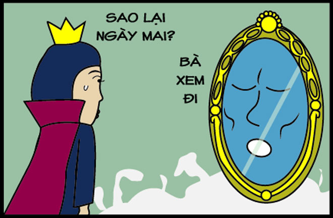 Vì sao hoàng hậu phù thủy luôn xấu xí hơn Bạch Tuyết? - 4