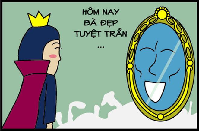 Vì sao hoàng hậu phù thủy luôn xấu xí hơn Bạch Tuyết? - 2