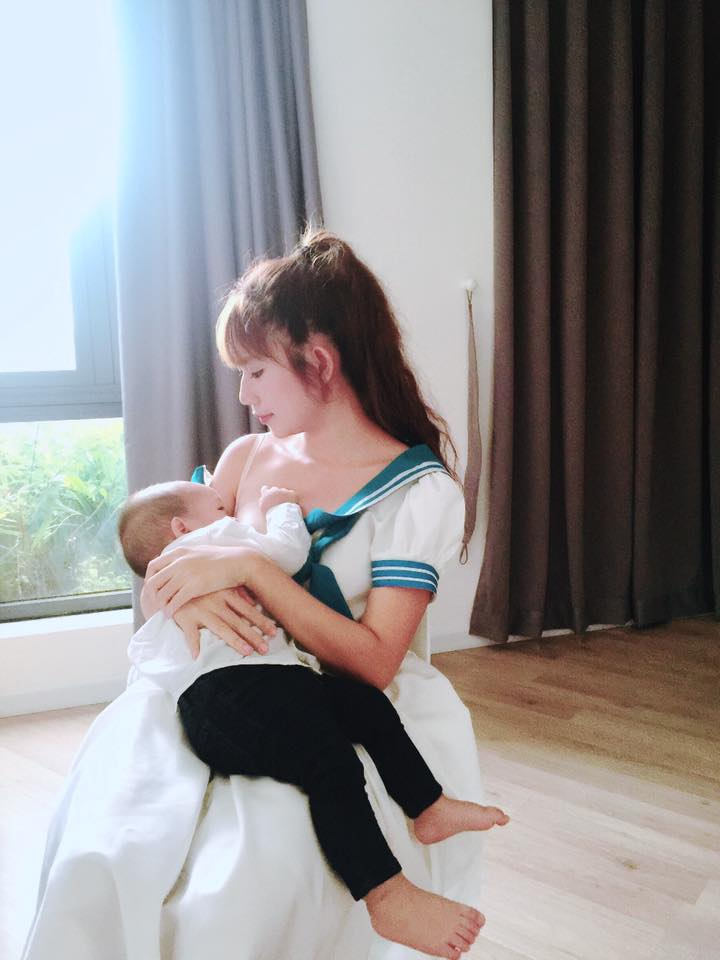 """Jennifer Phạm, vợ Lý Hải...3, 4 con vẫn đẹp """"đốn tim"""" đấng mày râu - 2"""