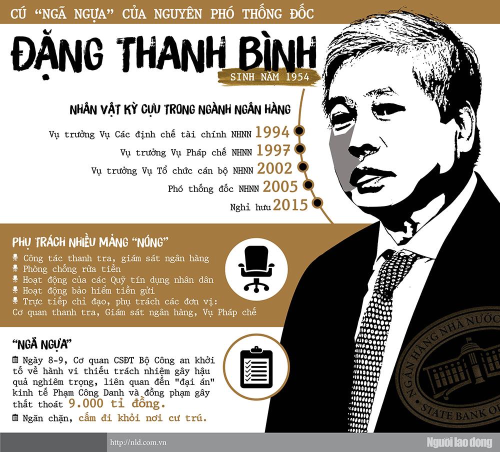 """Cú """"ngã ngựa"""" của nguyên Phó Thống đốc Đặng Thanh Bình - 1"""