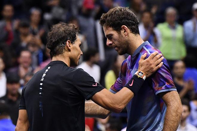 US Open: Nadal ra loạt đòn hảo hạng, Del Potro thất thần - 11
