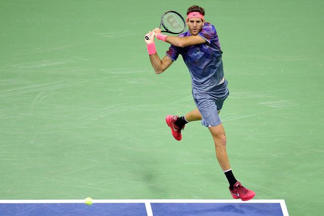 US Open: Nadal ra loạt đòn hảo hạng, Del Potro thất thần - 7