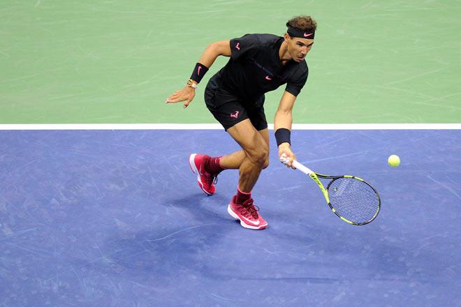 US Open: Nadal ra loạt đòn hảo hạng, Del Potro thất thần - 4