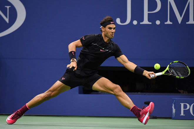 US Open: Nadal ra loạt đòn hảo hạng, Del Potro thất thần - 9