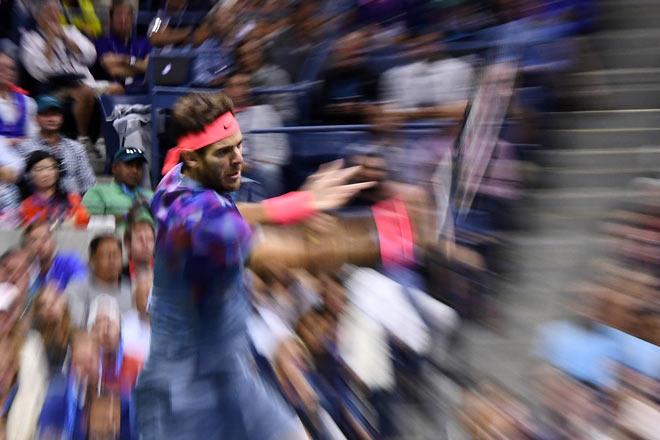 US Open: Nadal ra loạt đòn hảo hạng, Del Potro thất thần - 3