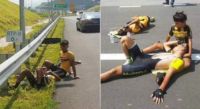 Rúng động thể thao Malaysia: Bỏ tù 5 năm kẻ gây hại 4 cua-rơ - 1