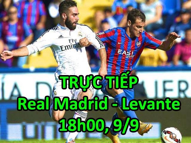 TRỰC TIẾP bóng đá Real Madrid - Levante: Tìm lại cảm hứng chiến thắng