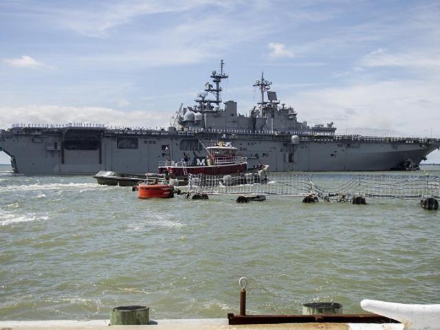 Chiến hạm Mỹ mang chiến đấu cơ F-35 áp sát Triều Tiên