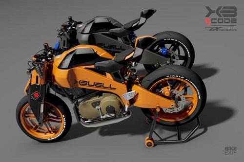 Tesio Buell XB12 Firebolt: Viễn cảnh tương lai của xế độ - 2
