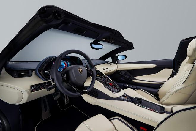 Lamborghini Aventador S Roadster giá từ 8,6 tỷ đồng - 4