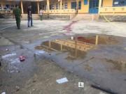 An ninh Xã hội - Bảo vệ bị côn đồ chém chết trong trường học