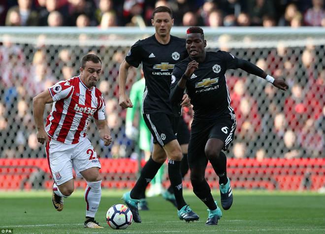 """Góc chiến thuật Stoke – MU: Mourinho sai lầm, """"cạn lời"""" vì hàng thủ - 1"""