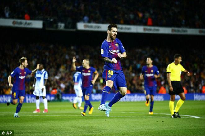 """Barcelona - Espanyol: Siêu sao rực sáng, bom tấn """"ghi điểm"""" - 1"""