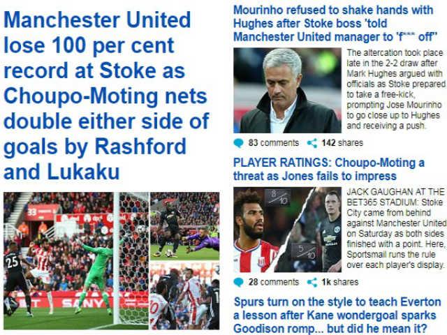 """Báo chí thế giới: SAO """"0 đồng"""" hạ MU, Mourinho bị chê khiếm nhã"""