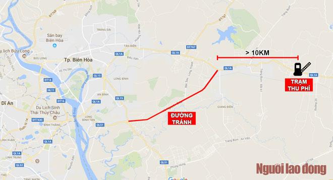 Toàn cảnh trạm thu phí BOT Biên Hòa xả trạm - 10