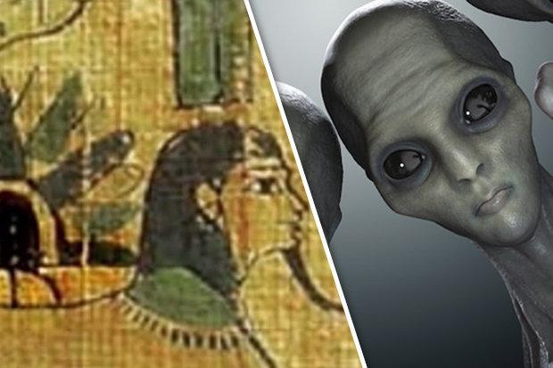 Người Ai Cập cổ đại từng gặp người ngoài hành tinh? - 1