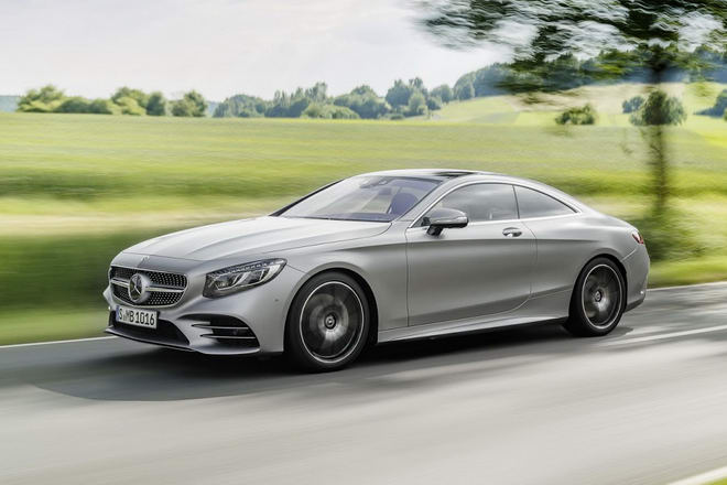 Mercedes-Benz S-Class Coupe 2018 lộ diện - 4