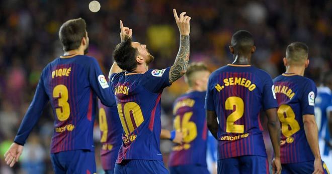 """Barca thắng """"bàn tay nhỏ"""": Ma thuật Messi, hào quang hé mở - 2"""
