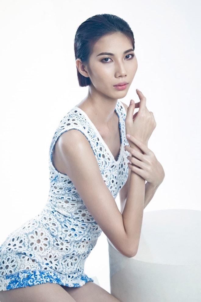 Giữa bão tranh cãi, người mẫu gầy trơ xương ở Vietnam's Next Top Model lên tiếng - 2