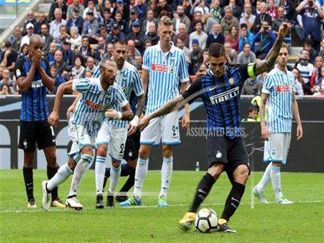 "Inter Milan - SPAL: Song tấu ""sát thủ"" Icardi - Perisic"