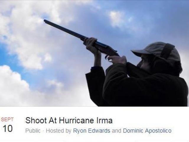 Hàng chục ngàn người Mỹ rủ nhau bắn súng diệt siêu bão
