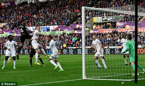 Chi tiết Swansea - Newcastle: Bất lực mất 3 điểm (KT) - 6