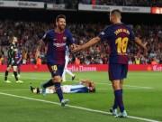 Bóng đá - Vắng Ronaldo, Messi nối dài kỉ lục giúp Barca lên đỉnh