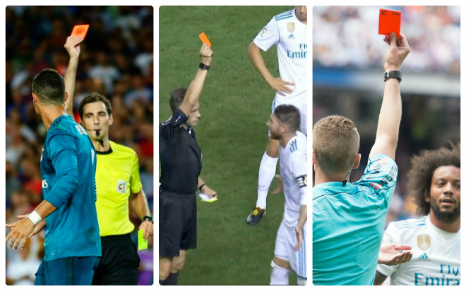 """Barca thăng hoa: Nhờ Messi hay trọng tài """"dìm"""" Real Madrid? - 2"""