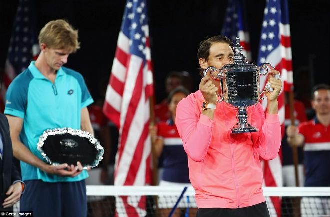 Chung kết US Open 2017: Nadal đăng quang ngọt ngào, Anderson tâm phục - 15