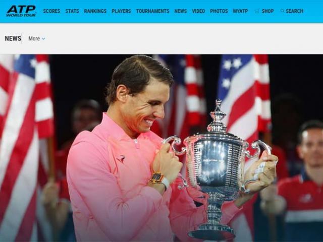 """Báo chí thế giới: """"Quái vật"""" Nadal, một năm kinh ngạc"""