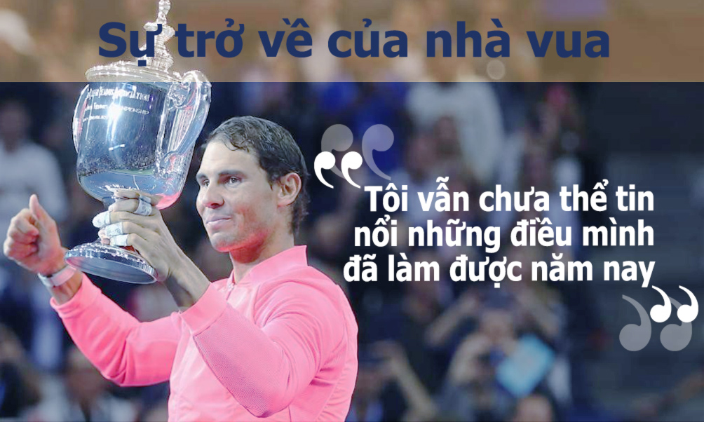 Nadal vô địch US Open: Chiến binh bất tử của quần vợt hiện đại (Infographic) - 6