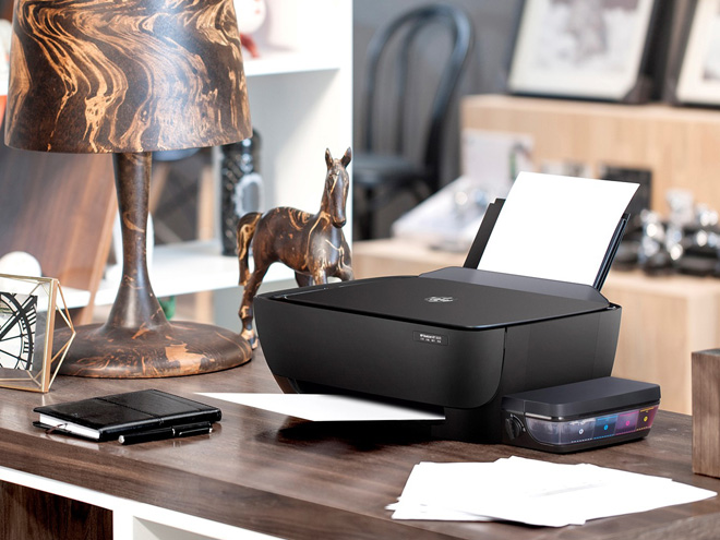 Máy in HP mới với hệ thống mực in liên tục tiết kiệm dành cho văn phòng - 1