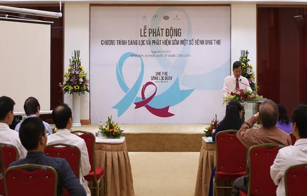 Miễn phí sàng lọc và hỗ trợ điều trị ung thư cho 15.000 người - 1