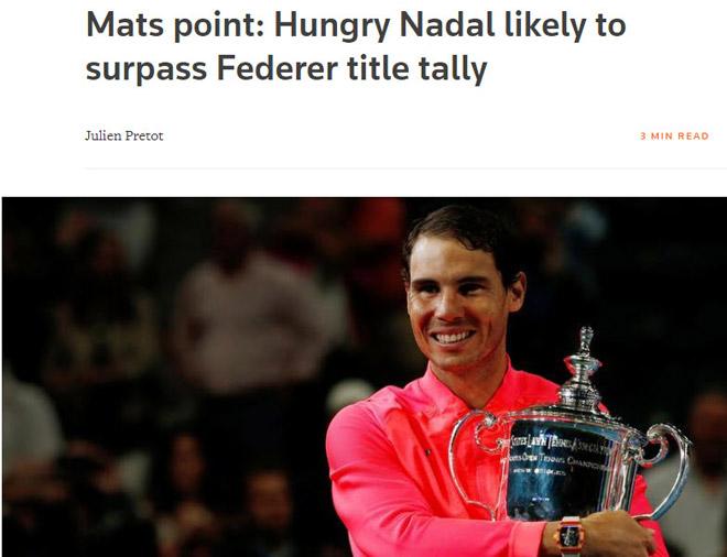 """Thống trị US Open: Nadal sắp vĩ đại nhất, Federer """"hít khói"""" - 3"""