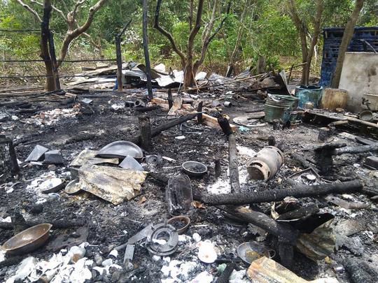 Nhà cháy rụi, cô giáo ở Phú Quốc bị bỏng rất nặng - 3