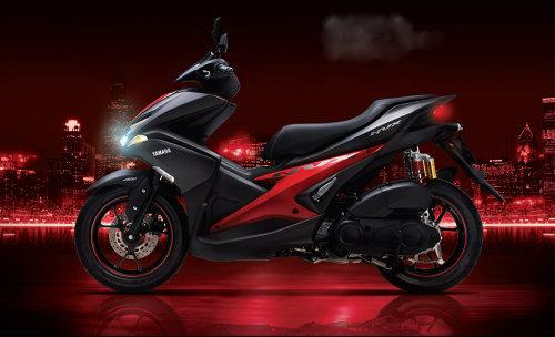 Yamaha NVX thêm loạt màu và cặp phuộc mới - 1