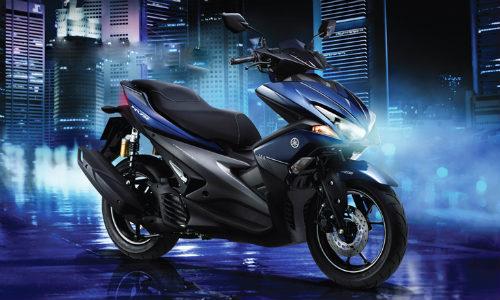Yamaha NVX thêm loạt màu và cặp phuộc mới - 4