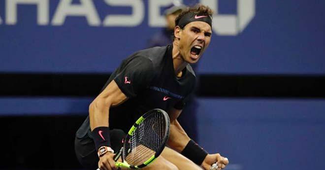 """Hotshot US Open: Nadal cứu bóng thần kỳ, đối thủ """"muốn khóc"""" - 1"""