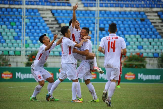 """U18 Việt Nam - U18 Indonesia: Dội mưa bàn thắng, """"tiểu Messi"""" nếm trái đắng - 1"""