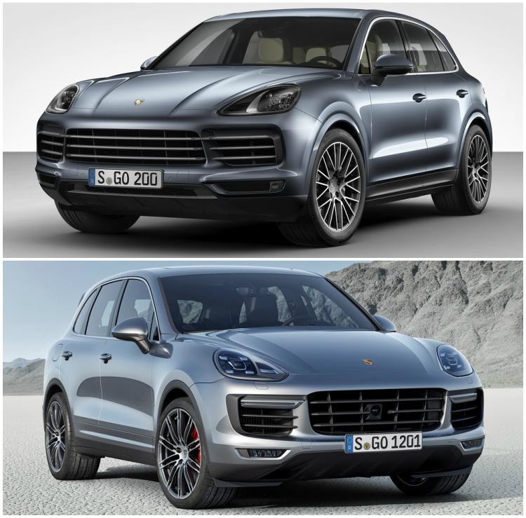 Porsche Cayenne 2018 khác gì thế hệ 2 trước đây? - 1