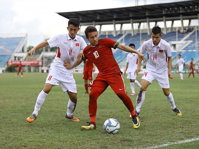 """U18 Việt Nam """"vùi dập"""" Indonesia, có """"sợ"""" Thái Lan như đàn anh U22? - 3"""