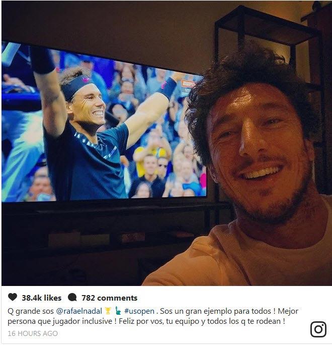 """Nadal lên đỉnh US Open, hàng loạt SAO tennis """"ngả mũ"""" - 1"""