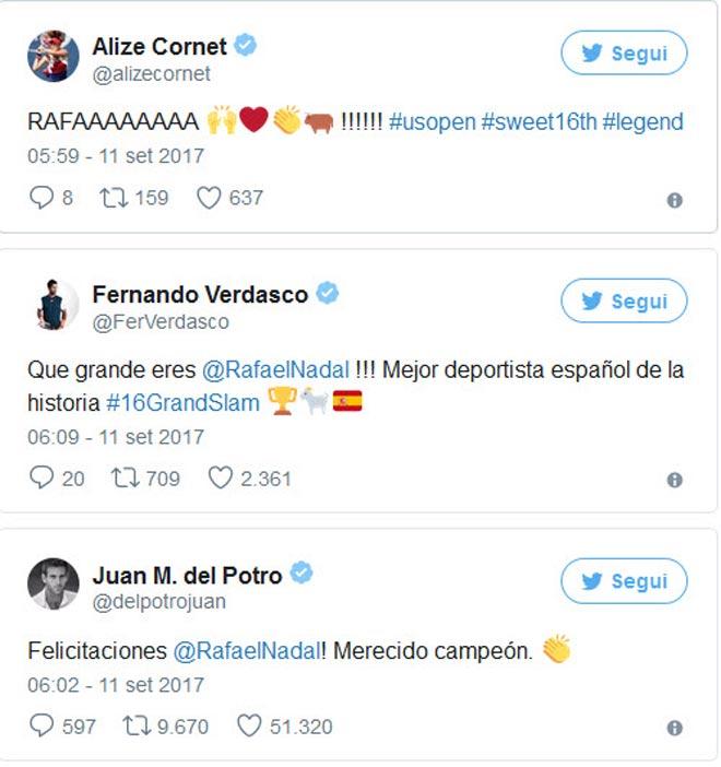 """Nadal lên đỉnh US Open, hàng loạt SAO tennis """"ngả mũ"""" - 2"""