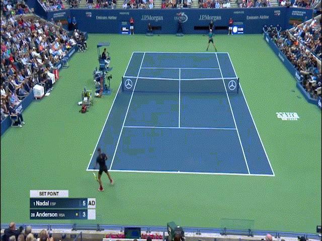 """So vợt kinh điển US Open: """"Cơn bão"""" Nadal & """"sát thủ"""" Anderson"""