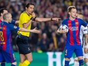 """Bóng đá - Barca thăng hoa: Nhờ Messi hay trọng tài """"dìm"""" Real Madrid?"""