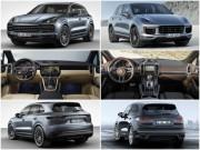 Porsche Cayenne 2018 khác gì thế hệ 2 trước đây?