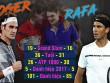 """Thống trị US Open: Nadal sắp vĩ đại nhất, Federer """"hít khói"""""""