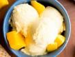 5 phút cho món kem sữa chua xoài ngọt thanh, mát lịm